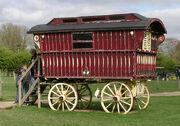 Gipsy caravan, Fishers Farm - geograph.org.uk - 238741