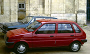 Mini Metro with 5 doors in Spain 1986