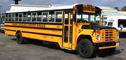 1988 Navistar International school bus with a Wayne Lifeguard 71 passenger body owned by school bus contractor and former Wayne dealer Virginia Overland Transportation in Richmond, Virginia in 1999