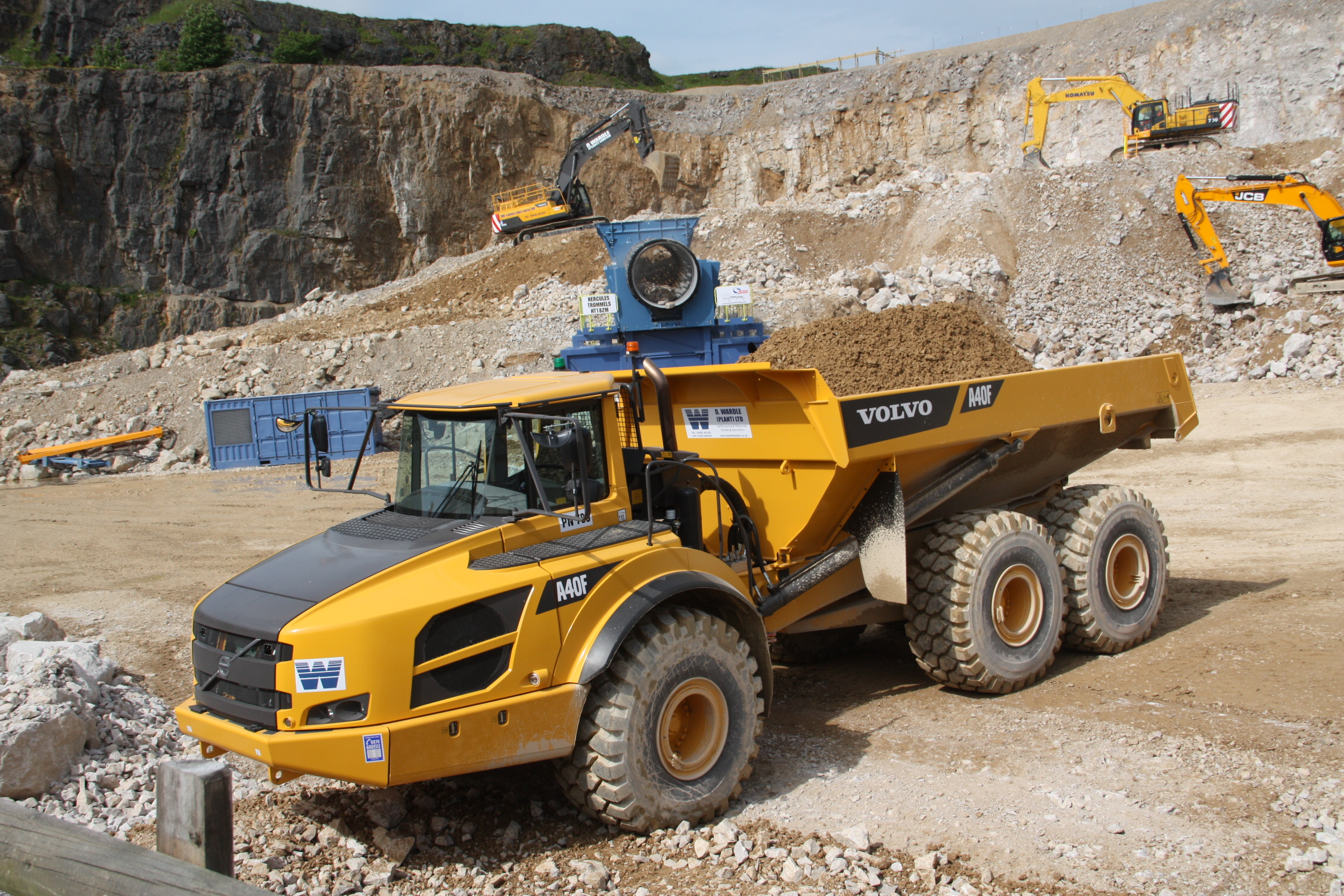 Volvo A40 ADT | Tractor & Construction Plant Wiki | FANDOM powered