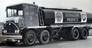 A 1950s Thornycroft Jupiter Talerlorry 8X4