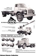 A 1960s Mack Trucks Diesel Lorry Model Range