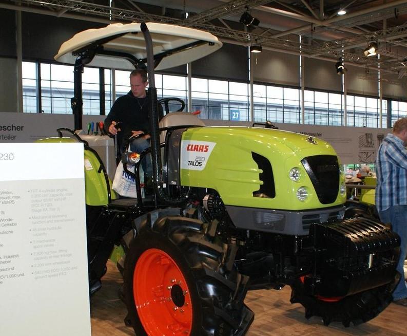 Claas Talos 230 | Tractor & Construction Plant Wiki | FANDOM