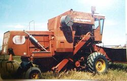Co-op Implements 951 combine