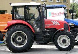 FarmTrac 80 4WD MFWD (red)-2008