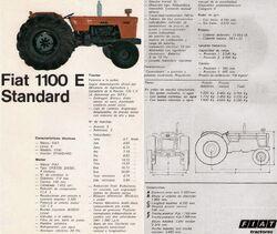 Fiat Concord 1100E brochure