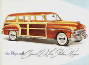 1949 Plymouth station wagon