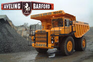 A 1990s Aveling Barford RD40 Mining Dumptruck Diesel