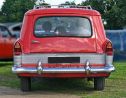 Ford Zodiac 206E Estate 1960 tail