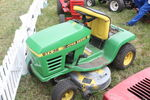 John Deere STX38 lawn tractor at Woodcote 09 - IMG 8659