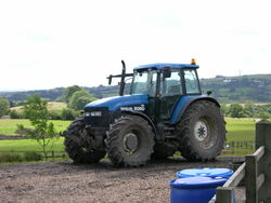 New Holland 8360 tractor - geograph.org.uk - 497198