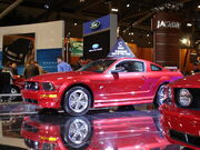 2005 mustang car of the year award
