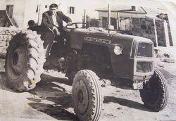 Fiat Turk Traktoru b&w - 1970