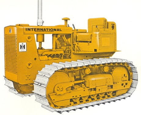 International TD-9B Power Shift | Tractor & Construction Plant Wiki