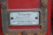 New prlapone Engine Co. plate - sn 3543 type KB - IMG 5148