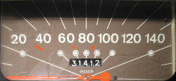 Speedometer Odometer