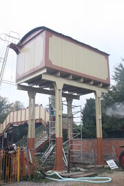 Water tower at Toddington Station - IMG 3673