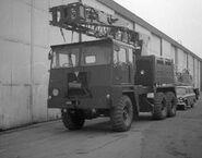 1980s Coles Army Cranetruck 6X6