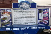 East Anglian Traction Engine Society display board - IMG 0297
