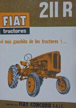 Fiat Concord 211 R brochure