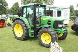 John Deere 6430 at newby 09 - IMG 2472