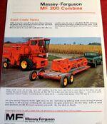 MF 300 combine brochure