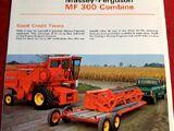 Massey Ferguson 300 combine