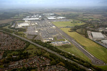 The former AWD Works now the Honda UK Factory