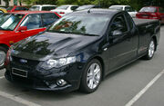 2008 Ford FG Falcon XR8 Ute (Front view)