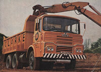 A 1970s GUY Big J Dumptruck