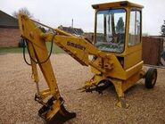 A 1990s Smalley Excavator 5T Diesel