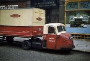British Railways Delivery Truck London 1962