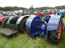 Fordson tractors drawbar