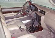 Lexus LX 450 interior