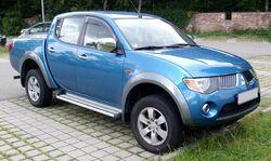 Mitsubishi L200 front 20080722