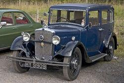 Morris Ten 1933 front