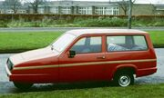 Reliant Robin Estate England