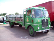 A 1960s Thornycroft Swiftsure Flatbed truck