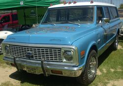 Chevrolet Suburban Custom Deluxe (Hudson)