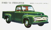 Ford V8 Freighter F-100