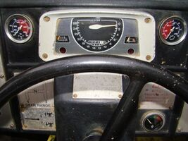 HYMAC 370C DASH BOARD