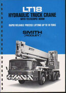 A 1970s Smith Of Rodley LT18 Vickers AWD Cranetruck