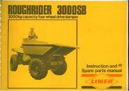 A 1980s Liner Roughrider 3000B Modelmanual