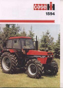 Case IH 1594 MFWD brochure - 1986