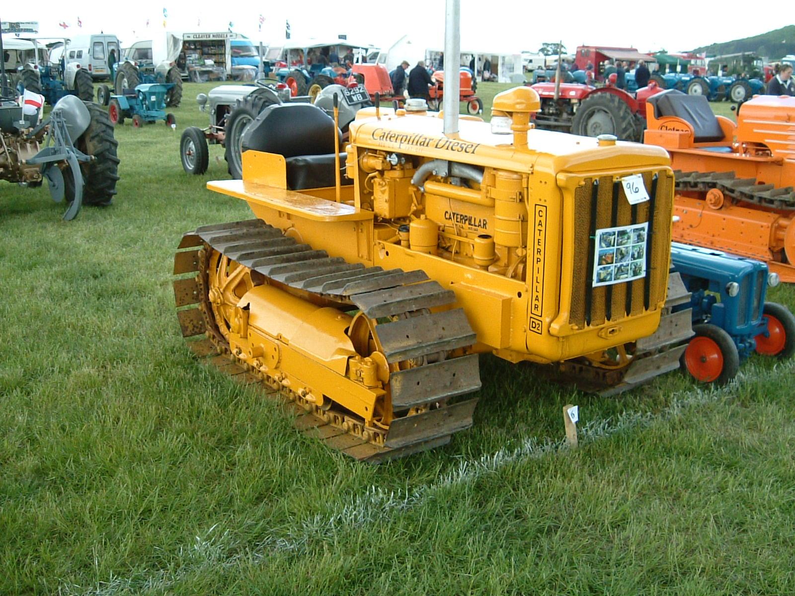 Caterpillar D2 | Tractor & Construction Plant Wiki | FANDOM