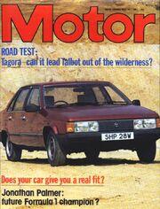 Motor magazine 16 May 1981