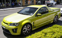 2007 HSV Maloo R8 (Front view)