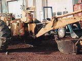 Allis-Chalmers D17 backhoe