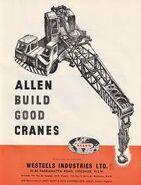 ALLEN Cranetrucks in Australia