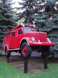 GAZ-51 in Lyubertsy